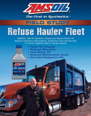 Nordic Waste Severe Fleet Synthetic Oil Study